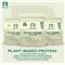 Plant Based Protein 600g cacao & caramel + Šejkr 700ml ZDARMA