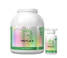Diet Protein 2kg vanilka + Thermo Fusion 100 kapslí