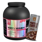 100% Whey Protein 2kg + Protein Coffee 250ml ZDARMA